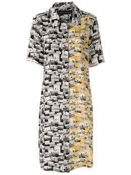 Gloria Coelho платье-рубашка с принтом V20V011