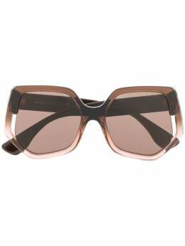 Miu Miu Eyewear солнцезащитные очки в геометричной оправе 0MU07VS