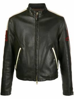 Giorgio Armani Pre-Owned куртка на молнии 1990-х годов с контрастными полосками ARM420A