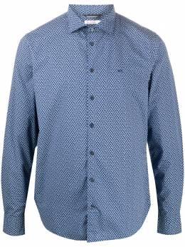 Sun 68 рубашка Camisa с цветочным принтом S40102