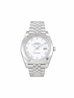 Rolex наручные часы Oyster Perpetual Datejust 41 мм 2020-го года pre-owned 126300