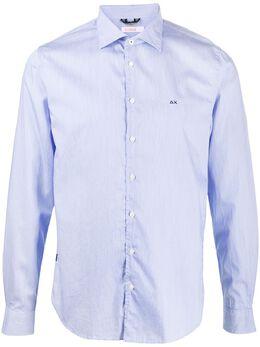 Sun 68 рубашка Camisa в тонкую полоску S40102