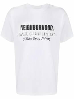 Neighborhood футболка с графичным принтом и круглым вырезом 201USIXNSTM04S