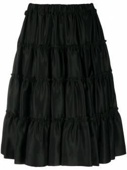 Comme Des Garcons Noir Kei Ninomiya ярусные шорты 3FP001051W1
