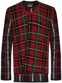 Comme Des Garcons Homme Plus свитер с круглым вырезом в технике пэчворк PFN003051