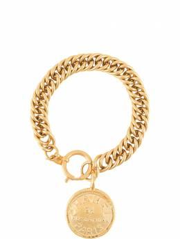 Chanel Pre-Owned браслет 1980-х годов с медальоном BL009127