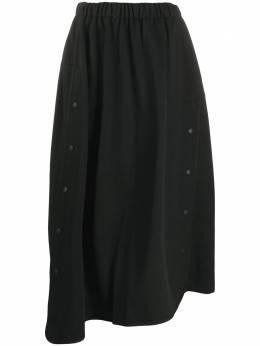 Y-3 юбка А-силуэта на пуговицах GK4357