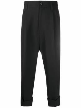Ann Demeulemeester укороченные брюки прямого кроя 20083404187