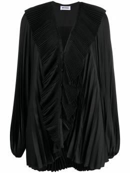 Brognano плиссированная блузка оверсайз 29BR1M09204764