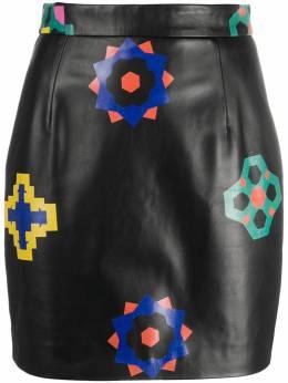 Kirin юбка с цветочным принтом KWJC004F20LEA0011087