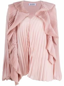 Brognano плиссированная блузка оверсайз 29BR1M10204763