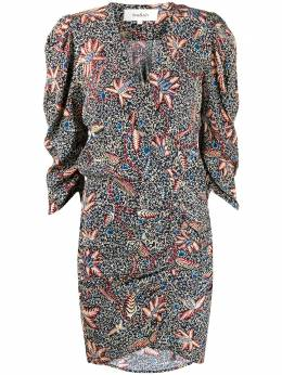 Ba&sh платье с цветочным принтом и запахом 1H20JOAN