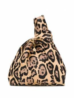 Simonetta Ravizza сумка-тоут с леопардовым принтом FURR1