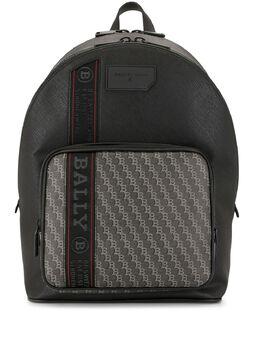Bally рюкзак на молнии с монограммой 6235445