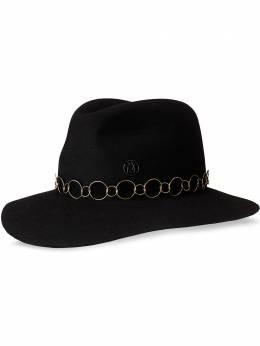 Maison Michel шляпа-федора Henrietta 1002091001