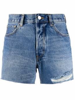 Anine Bing джинсовые шорты Gina с прорезями A050055445