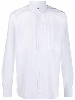 Les Hommes рубашка с манишкой LJS510403G