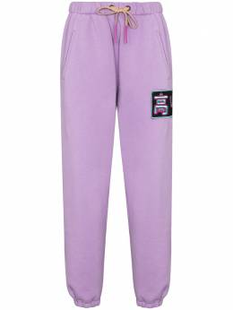 Natasha Zinko спортивные брюки с вышивкой PF2051470