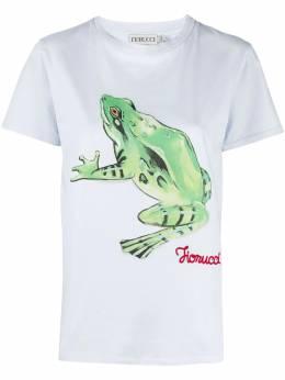Fiorucci футболка Woodland с принтом Frog W06TWFR1CPB