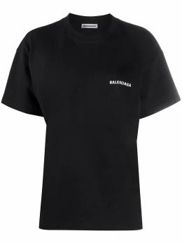 Balenciaga футболка с логотипом 612965TIVG5