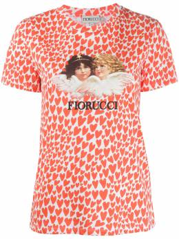 Fiorucci футболка с принтом Angels Heart W06TVAN3CML