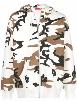 Supreme куртка с камуфляжным принтом SU5284