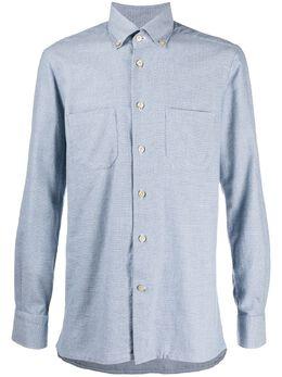 Kiton рубашка с длинными рукавами UMCCIROH0748401