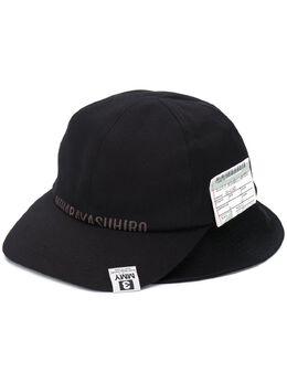 Maison Mihara Yasuhiro шляпа с логотипом A05AC402