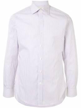 Kent & Curwen полосатая рубашка с длинными рукавами K3839TM25023