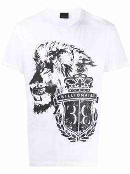 Billionaire футболка с графичным принтом и логотипом MTK4734BTE014N