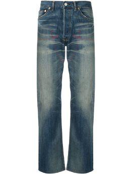 Junya Watanabe Man джинсы с эффектом потертости WFP203051