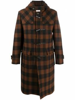 Mackintosh длинное пальто Weir в клетку MO5012