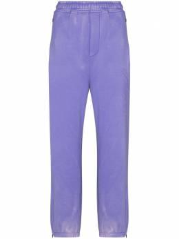 We11Done спортивные брюки со светоотражающим логотипом WDTA820110UPP