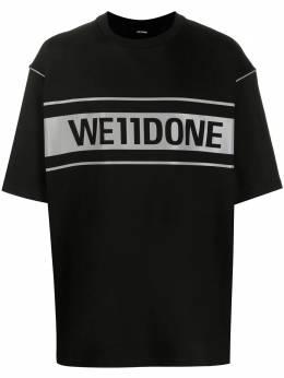 We11Done футболка оверсайз WDTP519940