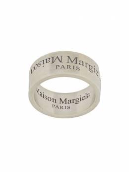 Maison Margiela кольцо с гравированным логотипом SM2UQ0002S12739