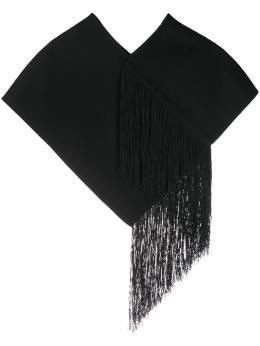 Jil Sander объемный шарф с бахромой JSMR590407MR100103