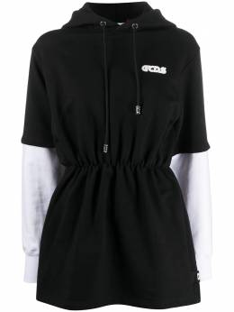 GCDS платье-худи с логотипом CC94W021017