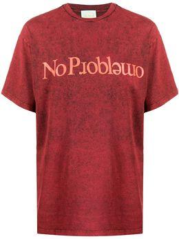 Aries slogan print T-shirt FRAR60202