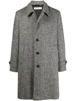 Department 5 фактурное однобортное пальто 20IDPUDU21G04F2102