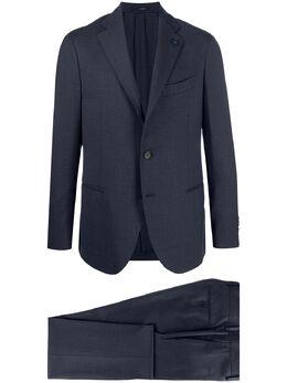 Lardini single-breasted fitted suit IM854AEIMRP55487