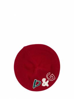 Шапка Из Шерсти Dolce&Gabbana 72I8YQ008-UjAyMjY1