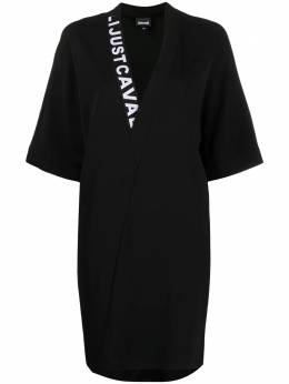 Just Cavalli платье мини с логотипом S02CT1057N39518