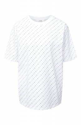 Хлопковая футболка Victoria, Victoria Beckham 2320JTS001763A