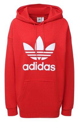 Хлопковое худи Adidas Originals FM3298