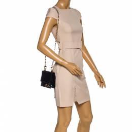 Dolce&Gabbana Holographic Fabric DG Girls Flap Shoulder Bag 322920