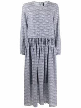 Sara Lanzi платье с принтом 02G