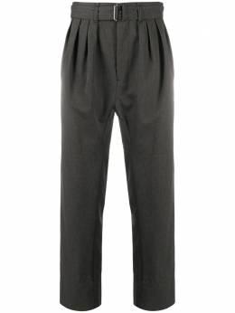 Lemaire прямые брюки со складками M203PA153LF484