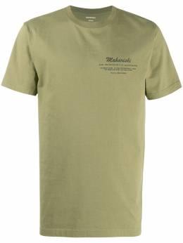 Maharishi футболка Eugenes с графичным принтом 9236