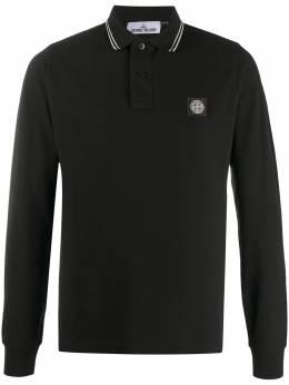 Stone Island рубашка поло с длинными рукавами MO73152SS18