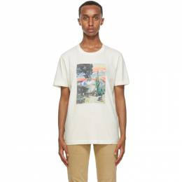 Nudie Jeans Off-White Someplace Collage Roy T-Shirt 131715